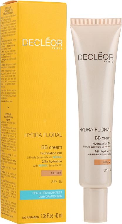 ВВ-крем увлажняющий 24 ч SPF 15 - Decleor Hydra Floral Multi-Protection BB Cream FPS 15
