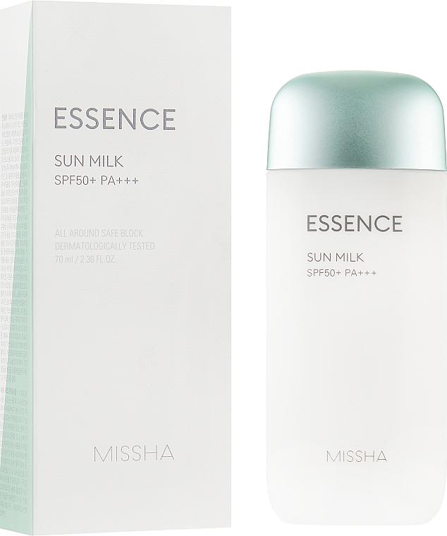 Солнцезащитная эссенция для лица - Missha All-around Safe Block Essence Sun Milk SPF50+/PA+++