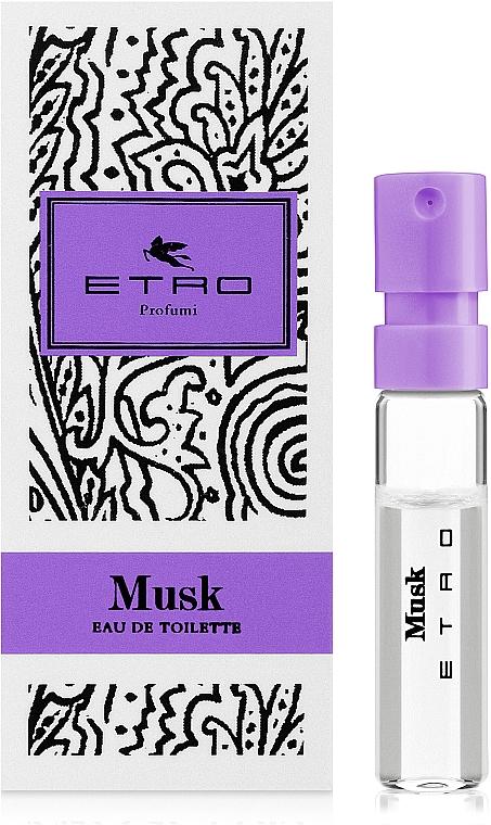 Etro Musk - Туалетная вода (пробник)