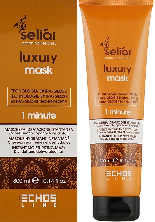 Увлажняющая маска для волос - Echosline Seliar Luxury 15 Actions Mask