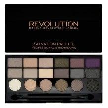 Духи, Парфюмерия, косметика Палетка теней для век, 18 оттенков - Makeup Revolution Salvation Palette Hard Day