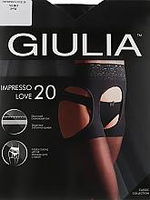 "Парфумерія, косметика Колготки для жінок ""Impresso Love"" 20 Den, nero - Giulia"