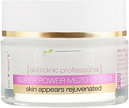 Активный омолаживающий крем день/ночь - Bielenda Skin Clinic Professional Mezo Anti-age  — фото N2