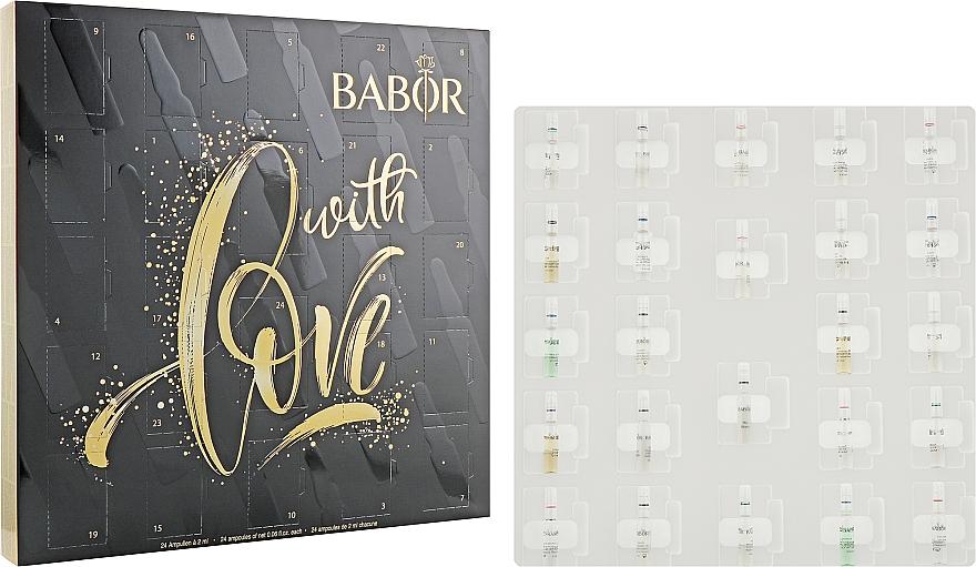 """Набор """"Рождественский календарь"""" - Babor Ampoule Advent Calendar 2020"""