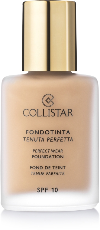 Тональный крем - Collistar Perfect Wear Foundation SPF 10