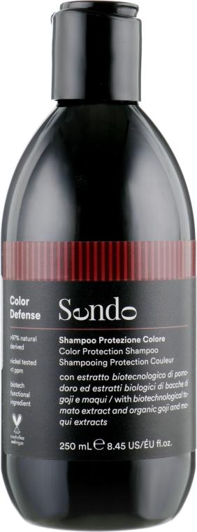 Шампунь для защиты цвета окрашенных волос - Sendo Color Defense Protection Shampoo