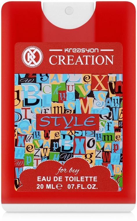 Kreasyon Creation Style - Детская туалетная вода