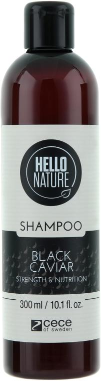 """Шампунь для волос """"Черная икра"""" - Cece of Sweden Hello Nature Shampoo"""