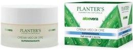 Духи, Парфюмерия, косметика Крем для лица суперувлажняющий - Planter's Aloe Vera 24 Hour Face Cream Super-hydrating