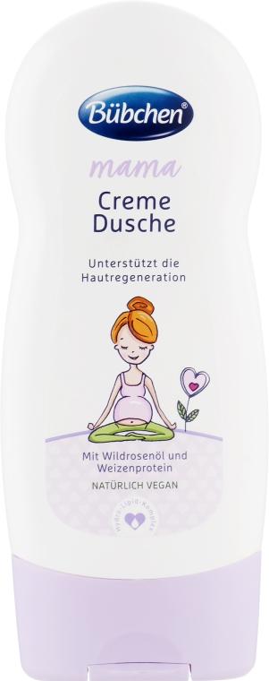 """Крем-гель для душа для беременных и кормящих матерей """"Мама"""" - Bubchen Mama Creme-Dusche"""