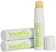 Духи, Парфюмерия, косметика Бальзам для губ питательный - La Saponaria Lip Balm Olive and Rice
