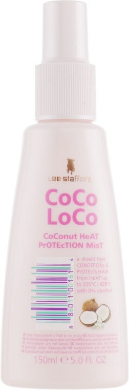 Защитный спрей для волос - Lee Stafford Coco Loco Heat Protection Mist
