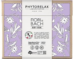 Духи, Парфюмерия, косметика Набор - Phytorelax Laboratories Fiori Di Bach Body Ritual (sh/gel/250ml + b/cr/300ml)