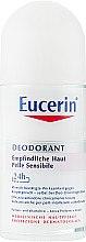 Духи, Парфюмерия, косметика Шариковый дезодорант - Eucerin Deodorant Empfindliche Haut 24h roll-on