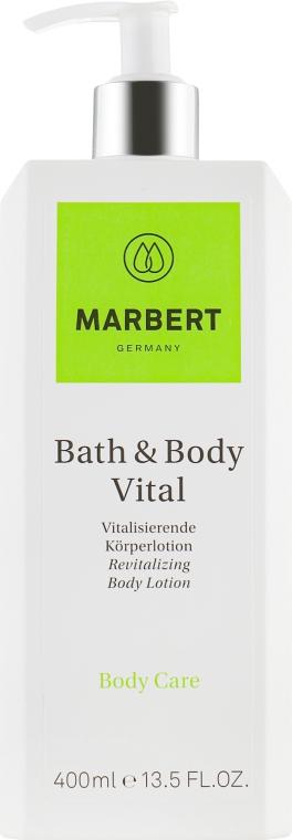 Питательный, восстанавливающий лосьон для тела - Marbert Bath & Body Vital Body lotion