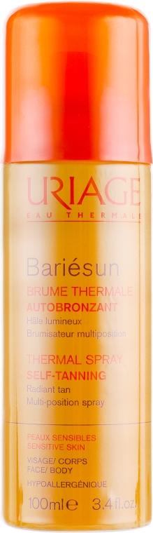 Термальный спрей автобронзант - Uriage Suncare product Les solaires d'Uriage