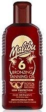 Духи, Парфюмерия, косметика Масло для тела с эффектом бронзового загара - Malibu Bronzing Tanning Oil SPF 6