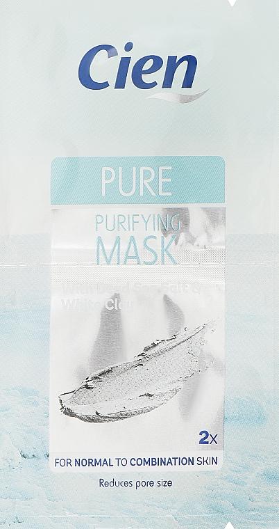 Маска для лица очищающая - Cien Pure