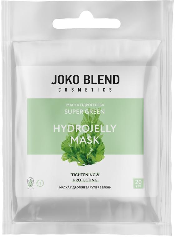 Маска гидрогелевая для лица - Joko Blend Super Green Hydrojelly Mask