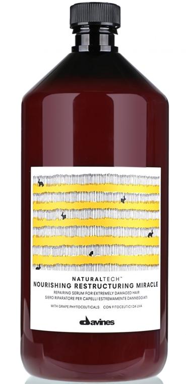 Питательная сыворотка для поврежденных волос - Davines Natural tech Nourishing RM