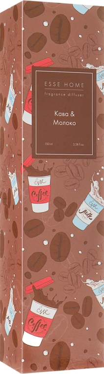 """Аромадиффузор """"Кофе и молоко"""" - ESSE Home Fragrance Diffuser"""