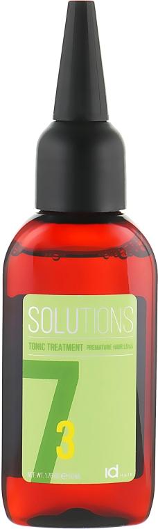 Тонизирующее средство против выпадения волос - idHair Solutions №7-3 Tonic Treatment