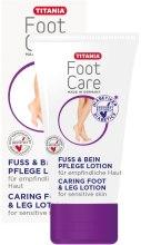 Духи, Парфюмерия, косметика Лосьон для ухода за ногами - Titania Foot Care Carling Foot&Leg Lotion