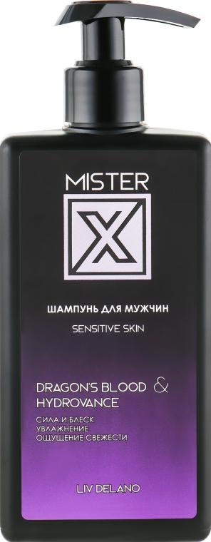 "Шампунь для мужчин ""Sensitive Skin"" - Liv Delano Mister X Shampoo"