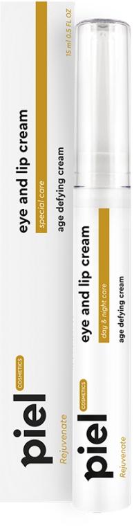 Антивозрастной увлажняющий крем для контура глаз и губ день-ночь - Piel Cosmetics Rejuvenate Eye And Lip Cream