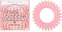 Набор резинок для волос, 3 шт - Invisibobble Original Blush Hour — фото N1