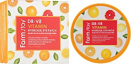 Духи, Парфюмерия, косметика Витаминные патчи для глаз - FarmStay DR-V8 Vitamin Hydrogel Eye Patch