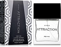Avon Attraction For Him Limited Edition - Туалетная вода — фото N1