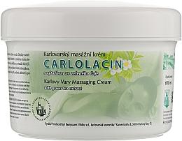 Духи, Парфюмерия, косметика Специализированный массажный крем с экстрактом зеленого чая - Vridlo Carlolacin