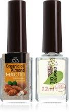 Парфумерія, косметика Зміцнюючий засіб для нігтів - Eva Cosmetics Organic Almond Oil