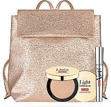 Духи, Парфюмерия, косметика Набор - Pupa Vamp! & Light Infusion 2019 (mascara/9ml + highilghter/4g + bag)