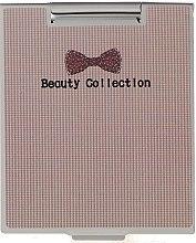 Духи, Парфюмерия, косметика Зеркальце в металлическом корпусе 85567, в мелкую клетку - Top Choice Beauty Collection Mirror