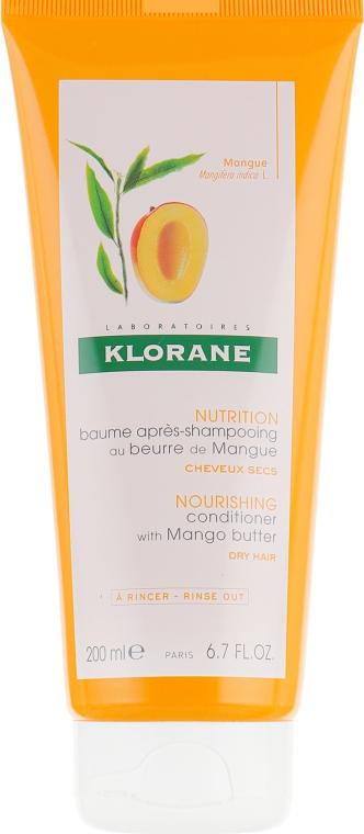 Бальзам питательный с маслом манго - Klorane Balm With Oil Mango