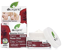 "Духи, Парфюмерия, косметика Антивозрастной дневной крем ""Роза отто"" - Dr. Organic Bioactive Skincare Rose Otto Day Cream"