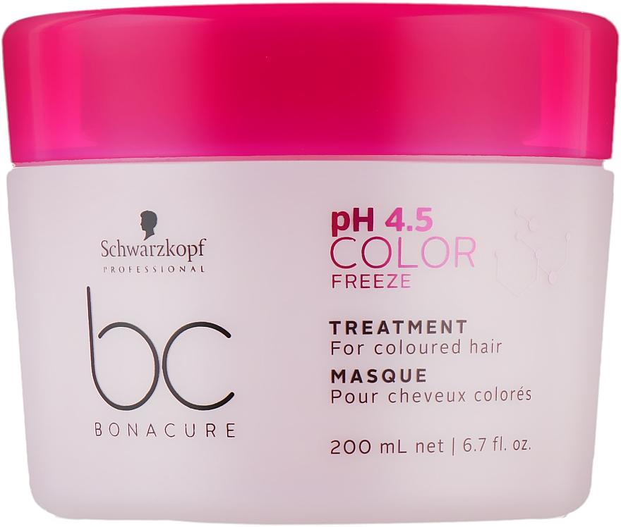 Маска-лечение для окрашенных волос - Schwarzkopf Professional BC Bonacure Color Freeze Treatment