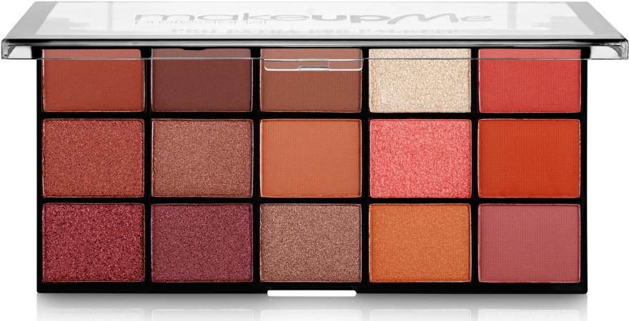 Профессиональная палитра теней 15 цветов, P15 - Make Up Me Pro Extra Eye Palette