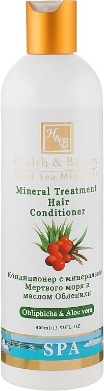 Кондиционер на основе минералов Мертвого моря - Health And Beauty Mineral Treatment Hair Conditioner