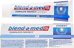 Духи, Парфюмерия, косметика Зубная паста - Blend-a-med Complete Protect Expert Professional Protection Toothpaste