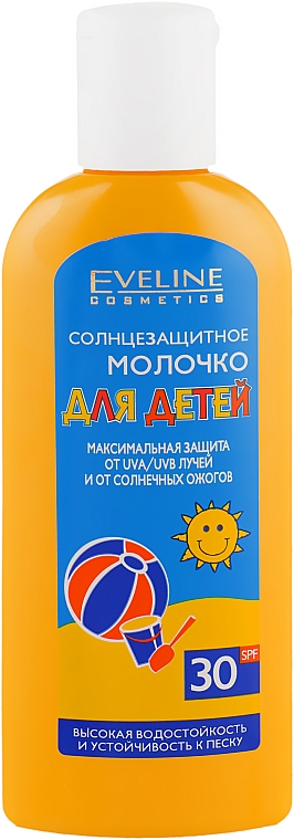 Солнцезащитное молочко для детей SPF30 - Eveline Cosmetics Body Sun Milk