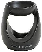 Духи, Парфюмерия, косметика Аромалампа - Yankee Candle Turning Stone Tart Burner Black