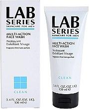 Духи, Парфюмерия, косметика Очищающий пенящийся гель - Lab Series Multi-Action Face Wash Nettoyant Exfoliant Visage