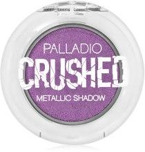 Духи, Парфюмерия, косметика Тени для век с металлическим сиянием - Palladio Crushed Metallic Eye Shadow