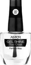 Духи, Парфюмерия, косметика Верхнее покрытие для ногтей - Astor 3D Gel Shine Top Coat