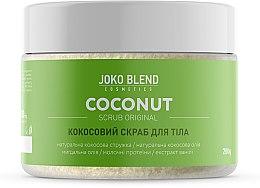 Духи, Парфюмерия, косметика Кокосовый скраб для тела - Joko Blend Coconut Original Scrub