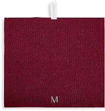 """Дорожный набор полотенец для лица, бордовые """"MakeTravel"""" - Makeup Face Towel Set — фото N3"""