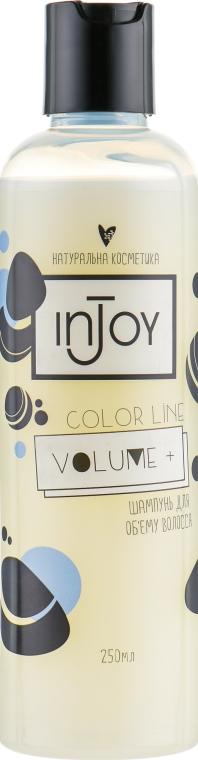 """Шампунь для тонких волос """"Volume +"""" - inJoy Color Line Volume + — фото N1"""